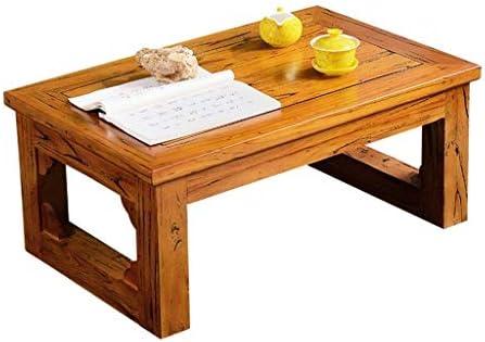 Good Tv - Mesa auxiliar de roble para TV, mesa de café, mesa de salón, mesa pequeña, mesa de ordenador portátil, mesa rectangular de madera, para sala de estar, mesa Dini, marrón: