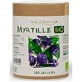 Nat&Form - Myrtille Bio 200 gélules Nat&Form