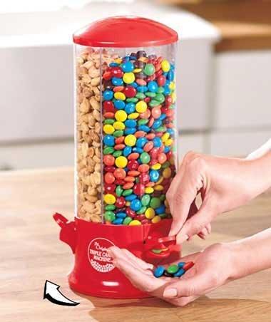 3-Way Desktop Candy Dispenser ()