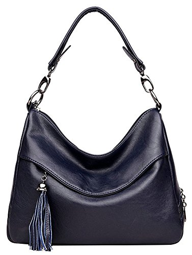 Purse Tote Shoulder Bag Blue Womens Ladies Handbag Handbags Hobo Designer Cross Leather Bag Body qwE6fEXFz