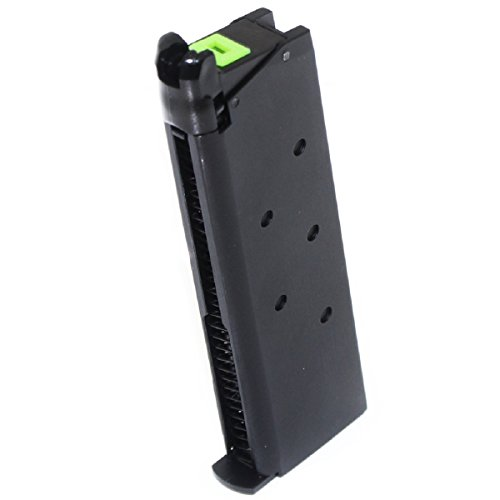 Airsoft Shooting Gear APS 25rd Mag Military Style Turbo Magazine for Tokyo Marui 1911 APS Marcux Crxius GBB Pistol (Best Tokyo Marui Gbb Pistol)