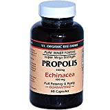 Propolis with Echinacea YS Eco Bee Farms 60 Caps