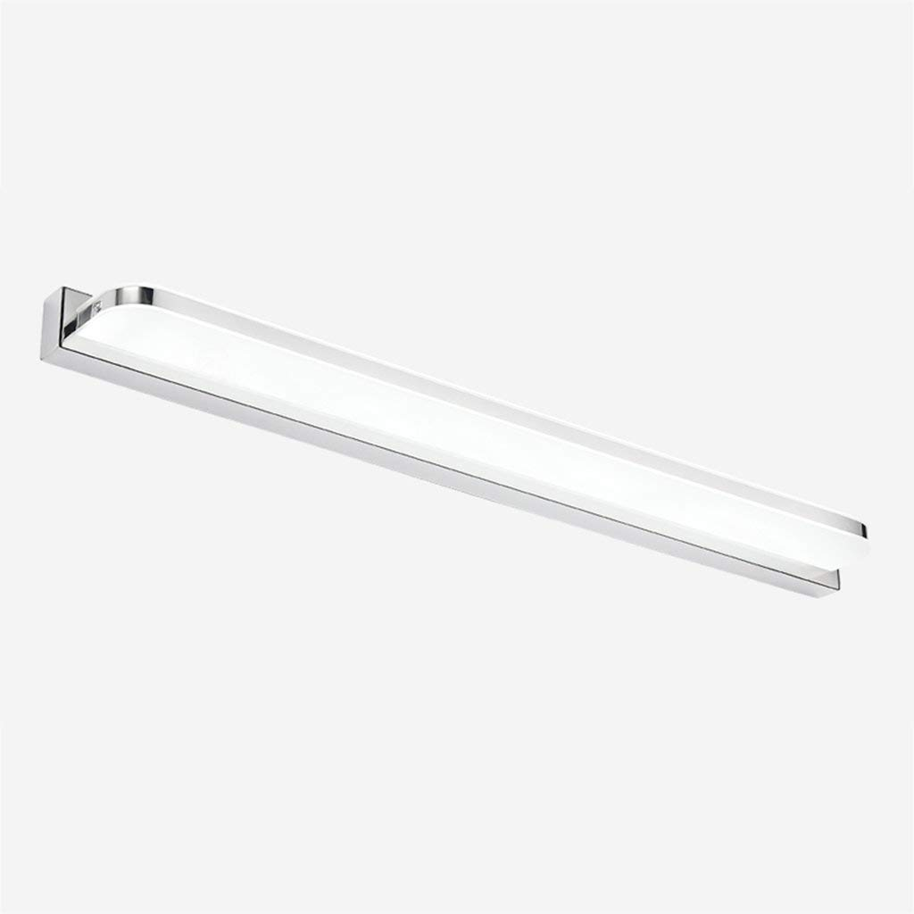 Fenciayao バスルームミラーフロントライトLED防湿霧化粧テーブルランプバスルームアクセサリー (Color : White Light, サイズ : 92cm) 92cm White Light B07QLG87D4