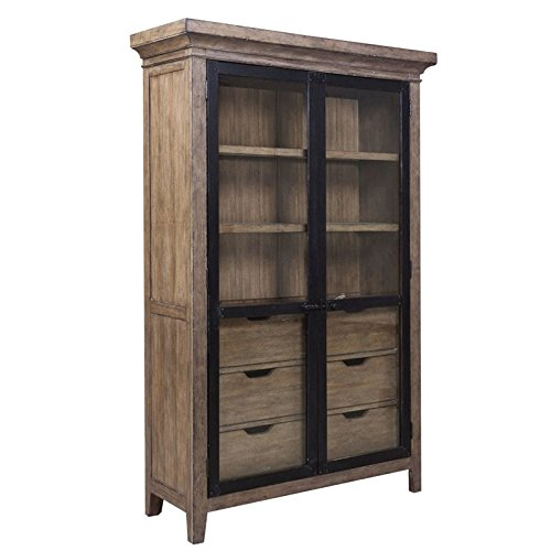 Samuel Lawrence Flatbush China Cabinet in Brown by Samuel Lawrence Furniture