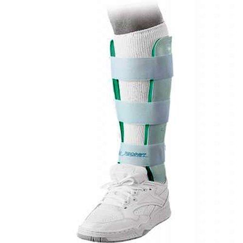 Aircast 03AL Leg Brace, Standard, Left, 15-1/2