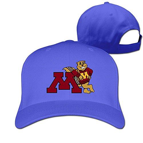 Price comparison product image WG Custom Latest Unisex University Of Minnesota Golden Gophers Gophs Baseball Caps RoyalBlue