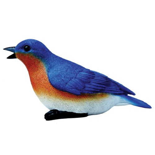 Cheap Michael Carr Designs 80033 Blue Bird Outdoor Statue, Chirper
