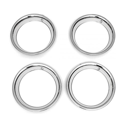 Eckler's Premier Quality Products 33144903 Camaro Rally Wheel Trim Ring Set 15'' x 7'' 81