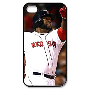 MLB iPhone 4,4S White Boston Red Sox cell phone cases&Gift Holiday&Christmas Gifts NADL7B8824607