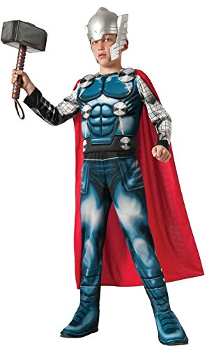Marvel Universe Avengers Assemble Thor Deluxe Costume, Large ()