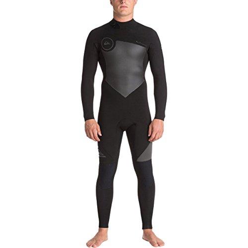Quiksilver Mens 3/2Mm Syncro Series - Back Zip GBS Wetsuit for Men Back Zip GBS Wetsuit Black - Gbs Zip Back