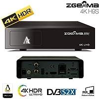 SleekView Zgemma H9S Enigma 2 IPTV Ultra HD 4K FTA UHD Stalker DVB S2X Satellite Receiver