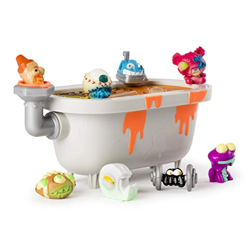 Flush Force, Series 2, 8-Pack Bizarre Bathtub with Gross Collectible Figures (Color/Styles May Vary) ()