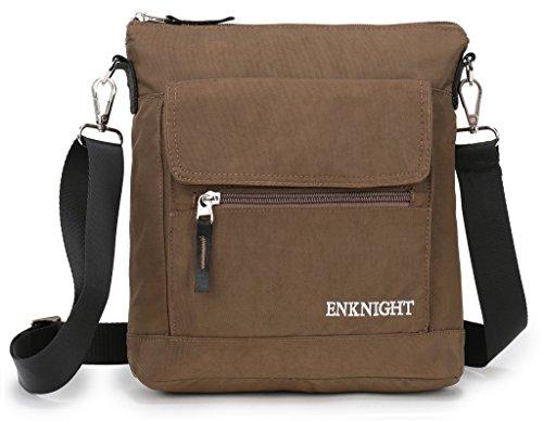 (ENKNIGHT Nylon Crossbody Purse Bag for Women Travel Shoulder handbags)
