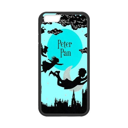 """Fayruz - iPhone 6 Rubber Cases, Peter Pan Never Grow Up Hard Phone Cover for iPhone 6 4.7"""" F-i5G109"""