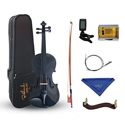 Bailando 1/4 Size Violin Starter Kit - Black by Bailando