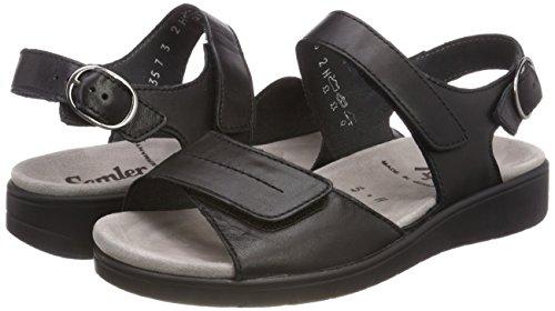 Sandals Ankle Women''s Black Semler 001 Strap Dunja schwarz vxIB6nC