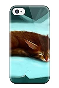 Faddish Phone Artistic Case For Iphone 4/4s / Perfect Case Cover