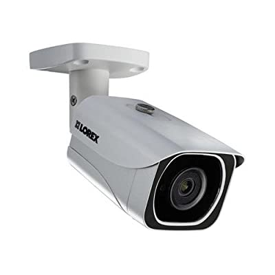 Lorex LNB8111BW, 4K Ultra HD Resolution 8MP Outdoor IP Camera, 130FT Night Vision by Lorex