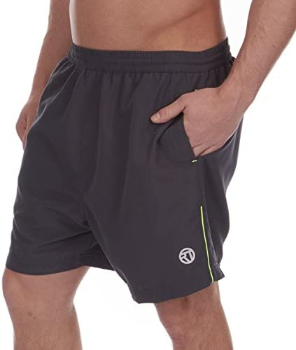 REDTAG Active Mens Swim Shorts with Contrast Side Piping
