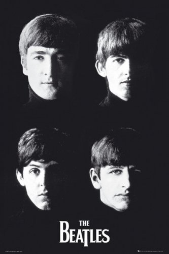 (POSTER STOP ONLINE The Beatles - Music Poster/Print (Heads/Faces) (Size: 24