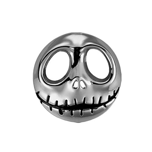 lightclub Pumpkin Car Metal Sticker Motorbike Accessory Halloween Skeleton Auto Decal -