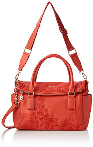 Women carmin Desigual Amber Loverty Bag Sacs Rouge Menotte Dark gnRqPwnZ