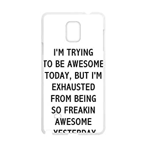 I'M Trying Bestselling Hot Seller High Quality Case Cove Hard Case For Samsung Galaxy Note4