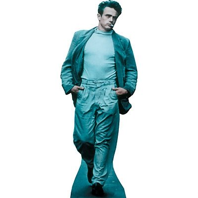 James Dean In Jeans Stand-Up 2 pack (Cardboard Cutout Dean compare prices)