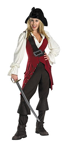 [Elizabeth Pirate Adult Deluxe Adult Womens Costume - Disguise] (Elizabeth Deluxe Adult Costumes)