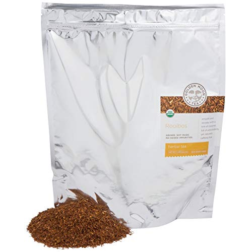 (Golden Moon Organic Rooibos (192 Servings) Loose Leaf Long Cut Tea)
