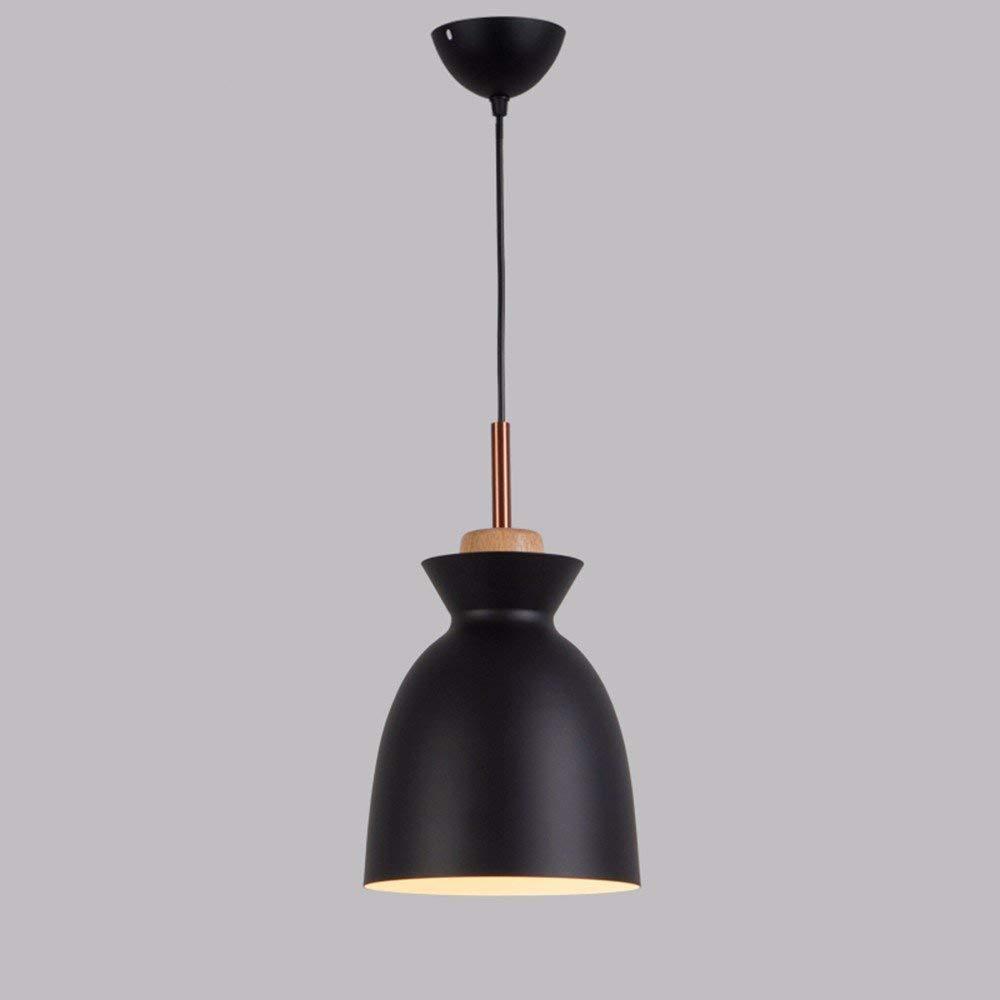 EI Kreative Haushaltsbeleuchtung Schlafzimmer Wohnzimmer Persönlichkeit Lampen und Kronleuchter Nordic Moderne LED Frigobar Aluminium 5 Watt Schwarz 19  33 cm