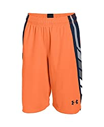 Under Armour Boys' Select Basketball Shorts, Black (005), Youth X-Small