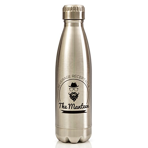 The Manteen Great Gifts For Men Keeps Your Beverage Hot Or Cold All Day Stainless Steel Water Bottle Double Walled Insulated