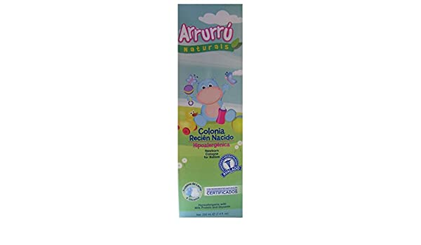 Amazon.com: ARRURRU COLOGNE RECIEN NACIDO 220ML (HYPOALERGENICA ...