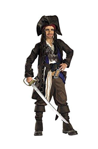 Captain Jack Sparrow Prestige Premium Child Costume - Small
