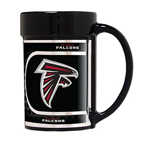 Falcons Ceramic Atlanta (Atlanta Falcons 15 oz Ceramic Coffee Mug with Metallic Graphics)