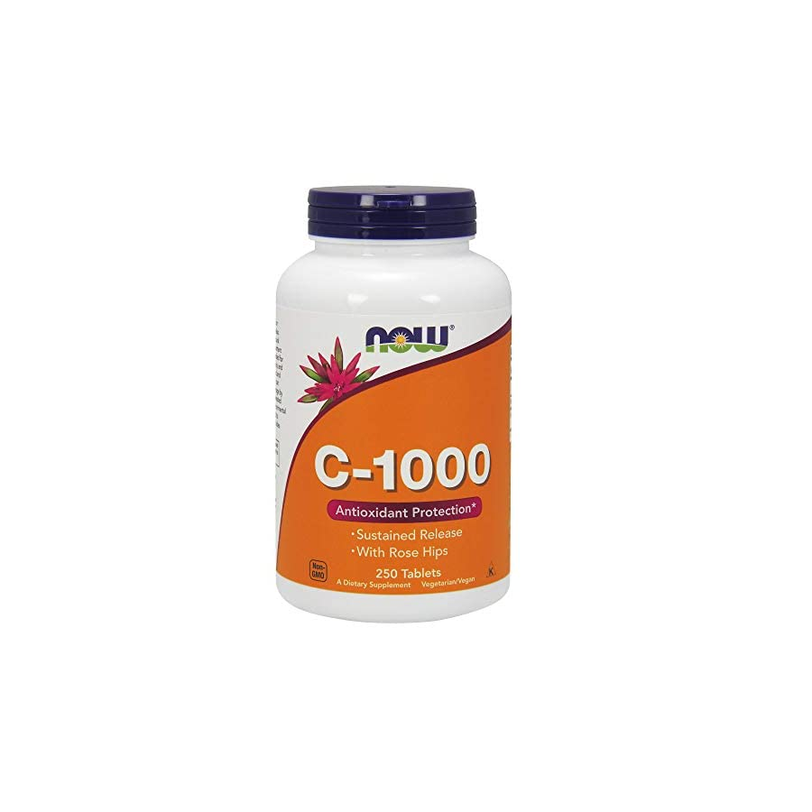 Now Vitamin C 1000 Sustained Release,250 Tablets