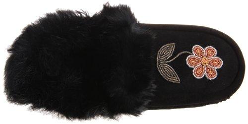 Manitobah Mukluks 20250 Slipper Black Js5KlqSDUu