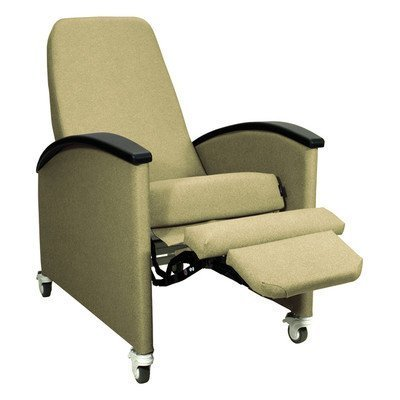 - Three Position Cozy Comfort Premier Recliner Color: Hunter Green, Style: TB133 and Heat Massage Left Side Tray