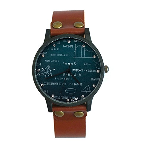 New Simple Round Dial Sport Student Watches Formula Mathematics Wrist Watch For Women Men Birthday Special Gift