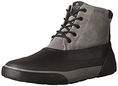 Sperry Men's, Cutwater Deck Boots Grey Black 7 M