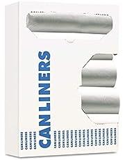 Boardwalk V8046MNKR04 Hi-Density Can Liner, 40-45gal, 40 X 46, 11mic, Natural, 25 Bag/roll, 10 Roll/ct