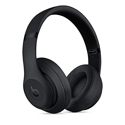 Beats S/t/u/d/i/o_3 Wireless Over The Ear Headphones with Carrying case, 3.5mm RemoteTalk...