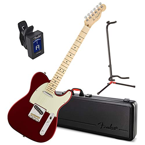 Fender American Professional Telecaster Electric Guitar (Candy Apple Red, Maple