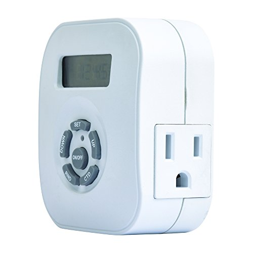 AmerTac TE1606WHB Indoor Weekly Digital Round - Outlet Reno Stores