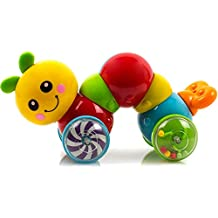 [Sponsored] Toysery Press N Go Caterpillar Baby Toy for Children & Kids Boys and Girls (No batteries required)