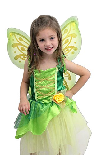 Great Pretenders Tinkerbelle Dress with (Halloween Costumes Wood Nymph)