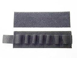 Kel-Tec KSG Shotgun Neoprene Cheek Rest/Arm Guard (velcro attached) with Shell Card Holder Combo - By Hi-Tech Custom Concepts, USA.