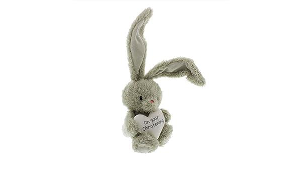 Bebunni plush christening rabbit